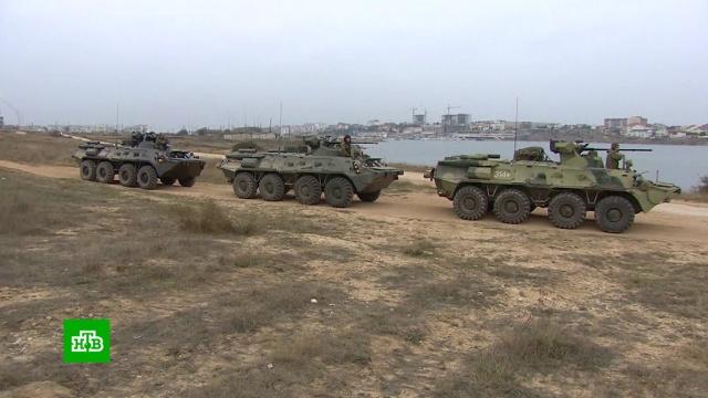 ВКрыму прошли первые учения морской военной полиции.Крым, армия и флот РФ, учения.НТВ.Ru: новости, видео, программы телеканала НТВ