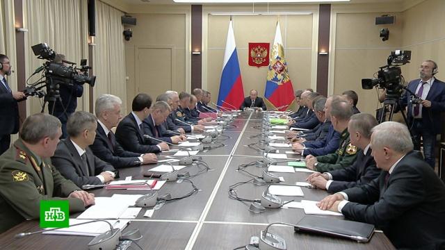 Путин поставил задачи перед армией иОПК до 2030года.Путин, армия и флот РФ, вооружение, технологии.НТВ.Ru: новости, видео, программы телеканала НТВ