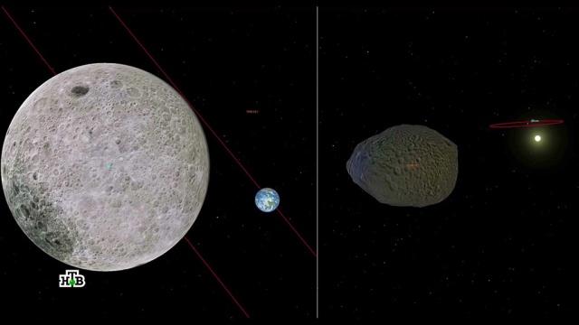 «Роскосмос» засек два опасных астероида.Роскосмос, астероиды, космос.НТВ.Ru: новости, видео, программы телеканала НТВ