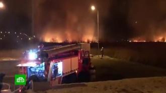 Как в фильме-катастрофе: в окрестностях Анапы горят камышовые поля