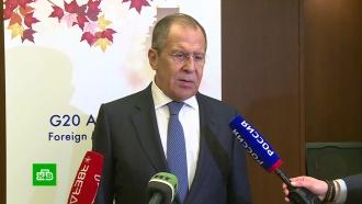 Лавров: США мешают переговорам России иЯпонии по Курилам