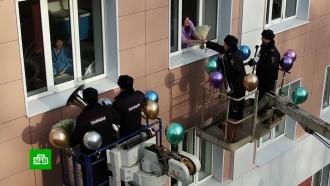 Сотрудники МВД устроили грандиозный сюрприз для пациенток перинатального центра
