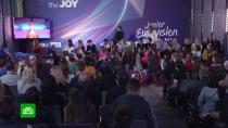 Жюри выставило оценки участникам «Детского Евровидения»