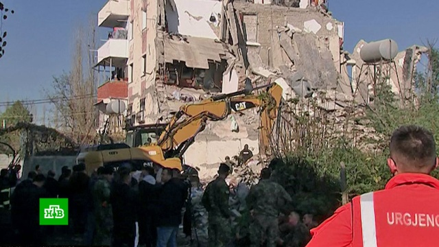 Количество жертв землетрясения вАлбании увеличилось до 16.Балканы, землетрясения, стихийные бедствия.НТВ.Ru: новости, видео, программы телеканала НТВ