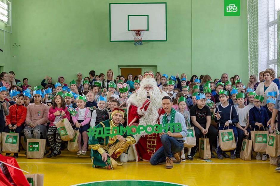 Путешествие Деда Мороза — 2019: праздник в Челябинске.НТВ.Ru: новости, видео, программы телеканала НТВ