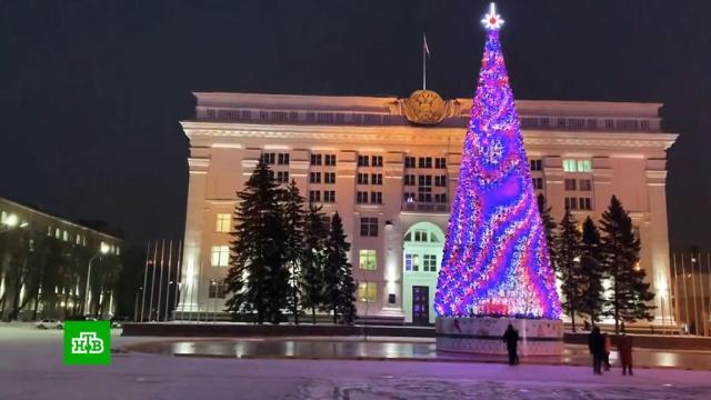 Глава Кемерова объяснил покупку елки за 18млн рублей.Кемерово, Новый год, госзакупки, рекорды, торжества и праздники.НТВ.Ru: новости, видео, программы телеканала НТВ