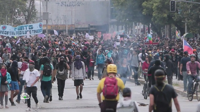 Мародерство и насилие: Латинскую Америку накрывает волна беспорядков.Венесуэла, США, Чили, беспорядки, митинги и протесты.НТВ.Ru: новости, видео, программы телеканала НТВ