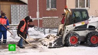 ВПетербурге создан штаб по контролю за уборкой снега