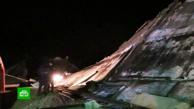 Названа причина обрушения путепровода под Оренбургом.Оренбург, мосты, обрушение.НТВ.Ru: новости, видео, программы телеканала НТВ