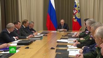 Путин: США планируют боевые операции в космосе