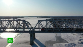 ВАмурской области открыли железнодорожный мост через Зею