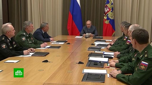Путин: Россия готова продлить СНВ-3 без всяких условий.Путин, США, Франция, армия и флот РФ, вооружение.НТВ.Ru: новости, видео, программы телеканала НТВ