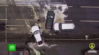Виновник массовой аварии на севере Петербурга оказался злостным нарушителем