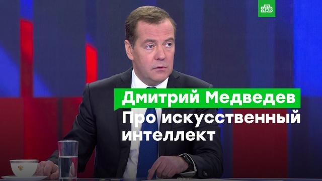 Надо не бояться, аконтролировать: Медведев— ороботах иискусственном интеллекте.Медведев, инновации, наука и открытия, роботы, технологии.НТВ.Ru: новости, видео, программы телеканала НТВ