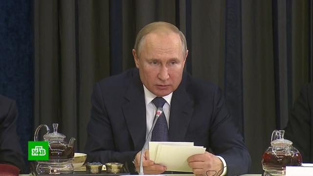 Путин раскрыл будущее газового транзита через Украину.Германия, Путин, Северный поток, Украина, газопровод, экономика и бизнес.НТВ.Ru: новости, видео, программы телеканала НТВ