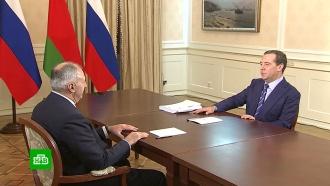 Медведев заверил, что «антибелорусских элементов» в России нет