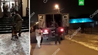 Появилось видео обысков уОПГ, причастной кубийству Эльджаркиева