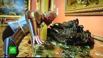 В день рождения Эрмитаж покажет рыцарский перформанс Яна Фабра