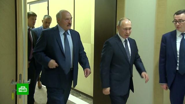 Путин направил Лукашенко телеграмму со словами обратской дружбе.Белоруссия, Лукашенко, Путин, газ, нефть, переговоры.НТВ.Ru: новости, видео, программы телеканала НТВ