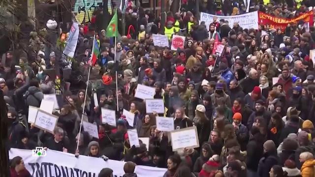 «Макрон, услышь свой народ»: почему бастует Франция.Макрон, Париж, Франция, демонстрации, митинги и протесты.НТВ.Ru: новости, видео, программы телеканала НТВ