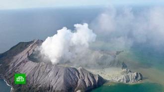 Спасатели не надеются найти выживших после извержения вулкана вНовой Зеландии
