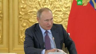 Путин опротестах: сначала бросил стаканчик, апотом стрелять начнут