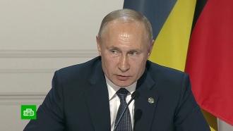 Путин заявил ополитическом характере антироссийских санкций WADA
