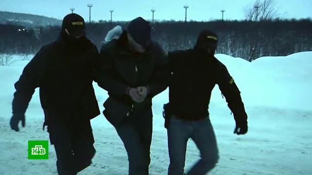 ВМурманске предотвратили теракт сторонника «Правого сектора».Мурманск, Правый сектор, ФСБ, задержание, терроризм.НТВ.Ru: новости, видео, программы телеканала НТВ