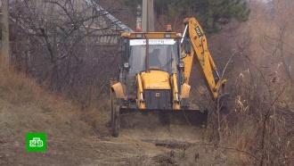 Ростовские чиновники проложили водопровод в никуда