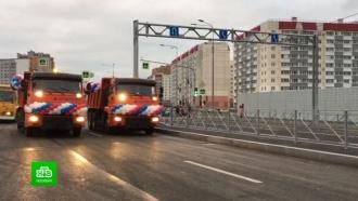 В Петербурге запустили путепровод над «Сапсанами»