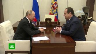 Путин сменил главу Еврейской автономной области