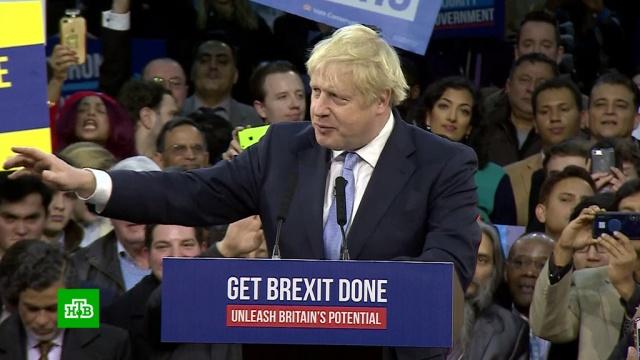 Борис Джонсон объявил опобеде на «исторических выборах».Великобритания, Джонсон Борис, выборы.НТВ.Ru: новости, видео, программы телеканала НТВ