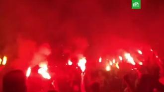 Пожар ипотасовка на концерте Макса Коржа вПерми