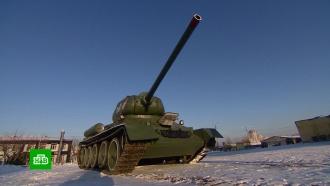 В Бурятии запустили полвека стоявший на постаменте Т-34