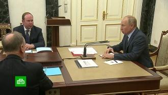 Путин заявил об укреплении позиций РФ на мировом рынке вооружений