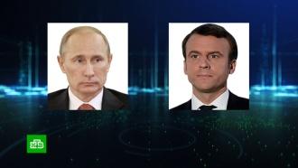 Путин иМакрон подвели итоги саммита внормандском формате