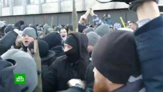 В беспорядках у стен Рады пострадали почти два десятка полицейских
