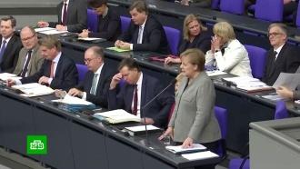 Меркель выступила против антироссийских санкций США