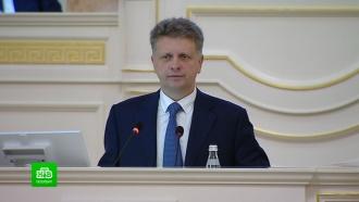 Экс-министр транспорта утвержден новым вице-губернатором Петербурга