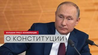Путин: оговорку о двух президентских сроках подряд можно отменить