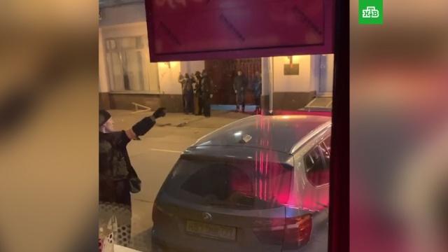 Стрельба на Лубянке: кадры спецоперации.Москва, ФСБ, стрельба, Путин.НТВ.Ru: новости, видео, программы телеканала НТВ