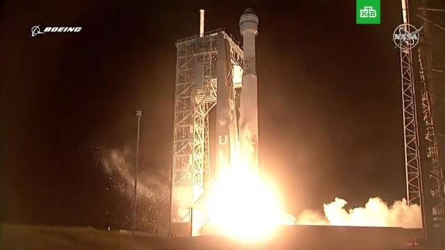 Космический корабль Starliner успешно вывели на орбиту.Boeing, МКС, НАСА, запуски ракет, космонавтика, космос.НТВ.Ru: новости, видео, программы телеканала НТВ
