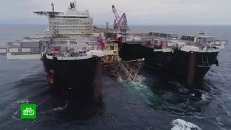Германия назвала вмешательством санкции США против «Северного потока— 2»