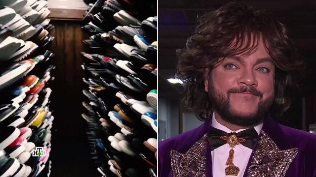 Киркоров носит 900тысяч вещей и5500пар обуви.работа, знаменитости, семья, одежда, мода, эксклюзив, артисты, шоу-бизнес, Киркоров.НТВ.Ru: новости, видео, программы телеканала НТВ