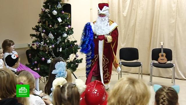 «Прерванный полет» подарил новогодний праздник для детей.Новый год, Санкт-Петербург, авиационные катастрофы и происшествия, благотворительность.НТВ.Ru: новости, видео, программы телеканала НТВ