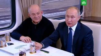 «Выпил, чтоли?»: Путин по пути из Керчи вТамань рассказал оночном звонке Ротенберга