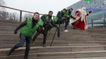 Путешествие Деда Мороза — 2019: праздник вМытищах.НТВ.Ru: новости, видео, программы телеканала НТВ