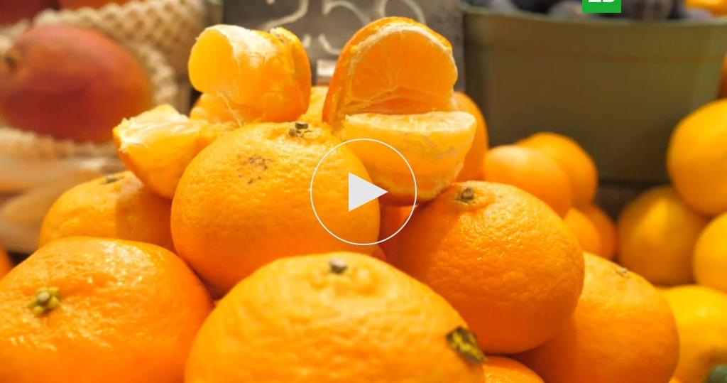 Оранжевое настроение: как правильно выбирать мандарины
