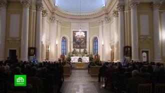 Вкатолических храмах Петербурга отслужили рождественскую мессу