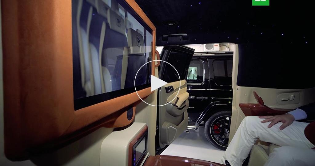 Машины для богатых: сброней иличным туалетом